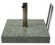 patio parasolvoet graniet