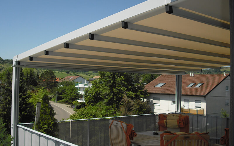 pergola overkapping balkon solero baldacchino solero. Black Bedroom Furniture Sets. Home Design Ideas
