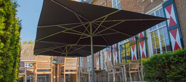 Hoe kies ik de juiste horeca parasol voor mijn terras?