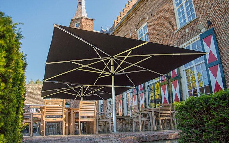 Parasolvoet Voor Parasol 4 Meter.Solero Horecaparasols Professionele Parasols Voor Cafe Of Restaurant