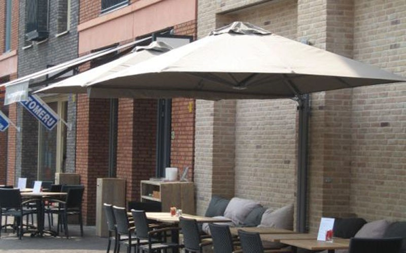 solero muur parasols wand parasols balkon parasols