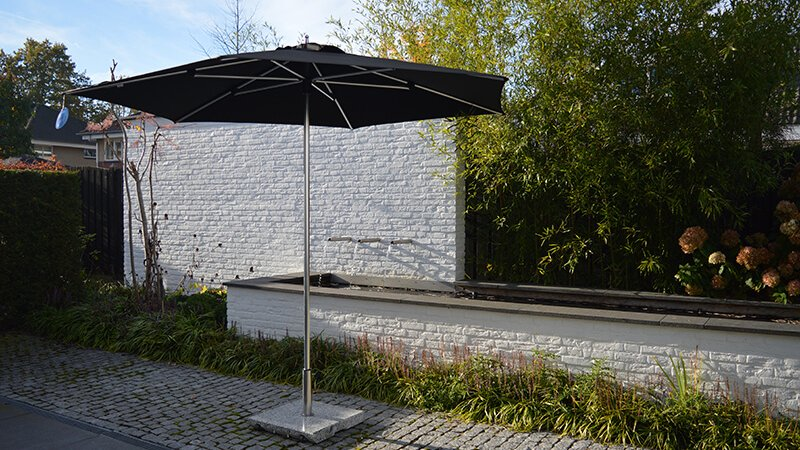 Parasolvoet Voor Zwevende Parasol.Parasolvoeten En Grondankers Solero Parasols